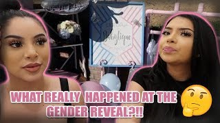 WHAT REALLY HAPPENED AT THE GENDER REVEAL..