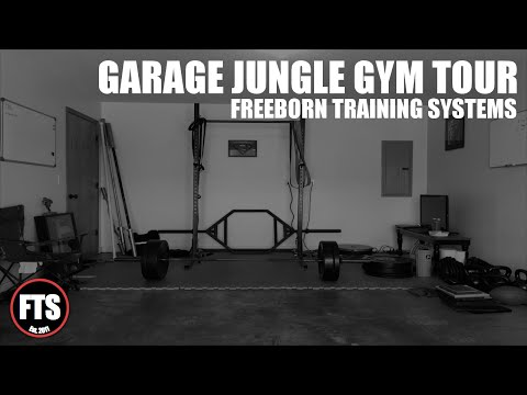 Garage jungle gym tour youtube