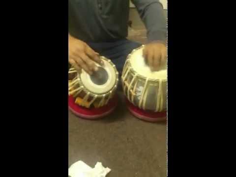 Shahbaz Hussain just practicing