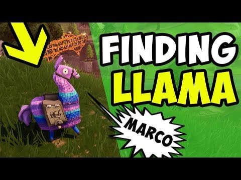 How To Find Llamas In Fortnite EVERY Time Season 9 PC/Xbox/PS4/Mobile