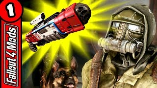 LORE FRIENDLY ADDITIONS – Weapons, Armour & Companion Mods – Fallout 4 Best Mods 2018 – Part 1