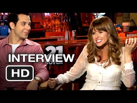 21 & Over Interview - Astin/Wright (2013) - Comedy Movie HD