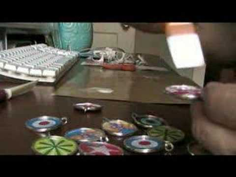 Resin Jewelry Tutorial with John W. Golden Part 1