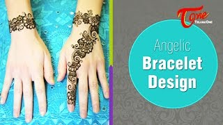 Angelic Bracelet Design | Mehandi Designs for Hands
