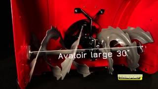 Fraise à neige thermique - 9 CV - Largeur 75 cm ELECTROPOWER