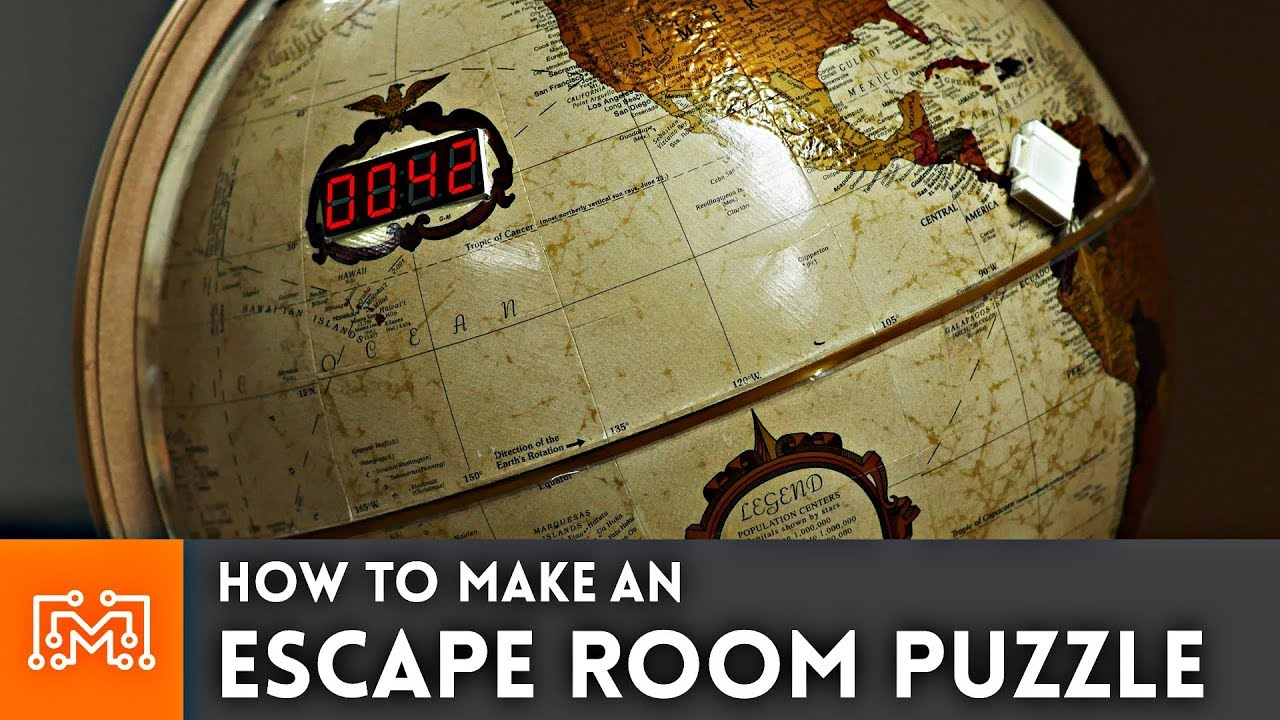 How to make an escape room puzzle youtube for Diy escape room