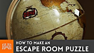 See how I made an escape room puzzle from a globe!! Sponsored by Lowes See the DIY Escape room video at https://www.youtube