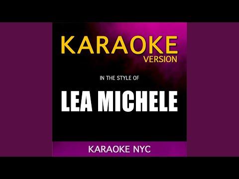 Empty Handed (Originally Performed By Lea Michele) (Karaoke Piano Version) mp3