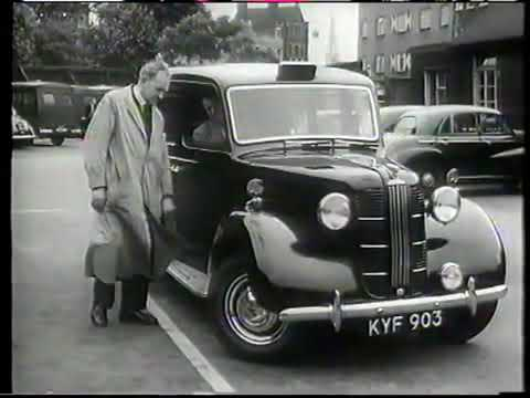 History of the iconic London Fairway Taxi FX4