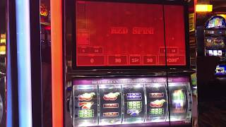 VGT Slot Crazy Cherry Jubilee 9 Lines Red Screen Red Spin Choctaw Gambling Casino Durant, OK