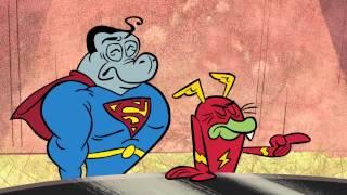 Neue DC NATION ' S FARM LEAGUE Cartoon Network - Superhelden-Comics Animierte TV-Show