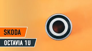 Kaip pakeisti priekinio rato guolis SKODA OCTAVIA 1U PAMOKA | AUTODOC