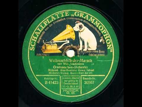 Scharf, Georg und Grammophon-Orchester - Weihnachtslieder-Marsch