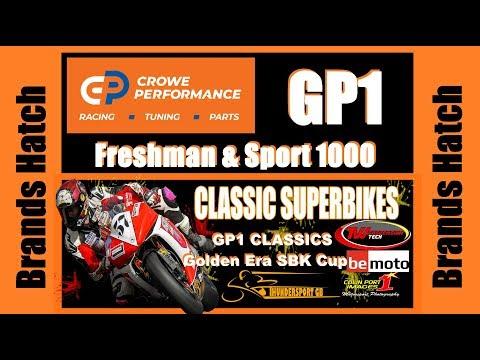GP1 Classics, Sport & Freshman 1000 + Golden Era SBK - Brands Hatch 2019