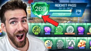Opening *NEW* Rocket Pass Tiers Until I Reach 269...