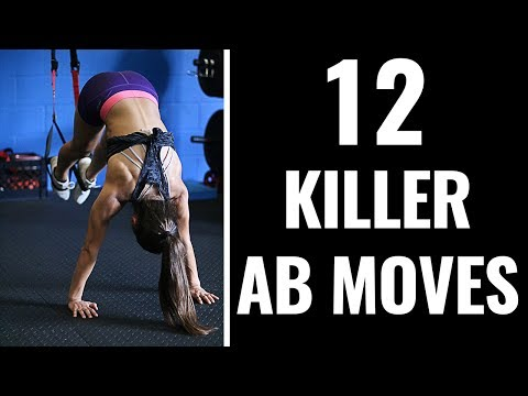 12 Advanced Ab Exercises for a HARDER Core