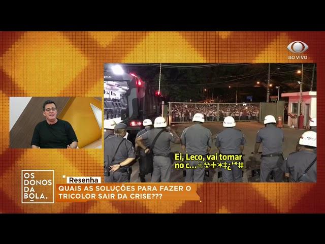 Fernando: Presidente do Tricolor dá muito pitaco no futebol