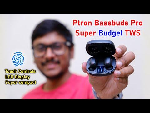 Cheap & Best Budget TWS Earbuds? Ptron Bassbuds Pro Review