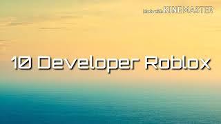 Roblox || 10 Developer Roblox Outfit