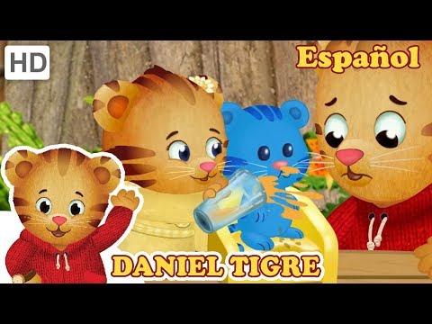 Daniel Tigre en Español - Discutiendo con tu Hermana