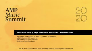 Music Tech: Keeping Hope and Growth Alive in the Time of COVID-19