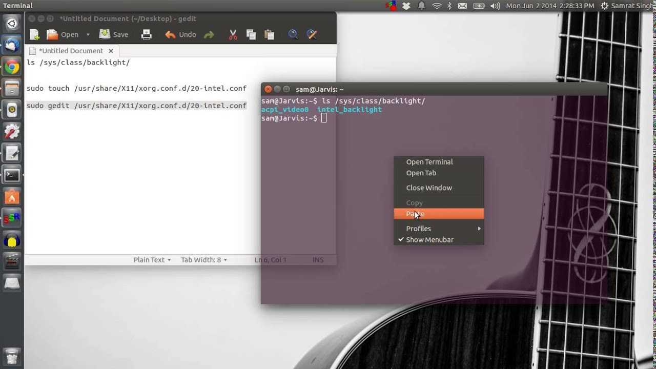 How to fix brightness issue in Ubuntu