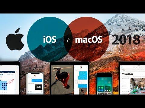 Apple podría fusionar iOS y macOS en 2018