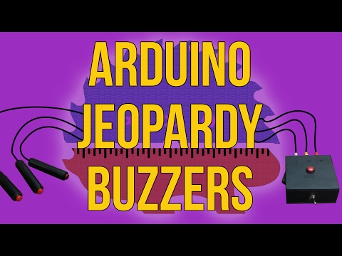 Making Jeopardy Buzzers With Sounds | Arduino | How To