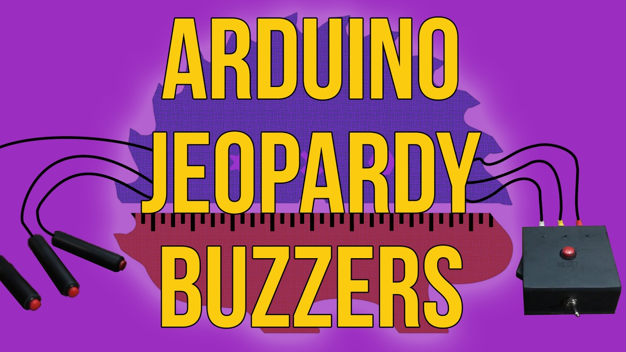 Making Jeopardy Buzzers With Sounds Arduino How To Youtube Wiring Diagram Quiz Together Game Show Buzzer Circuit