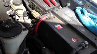 2004 Ford Explorer fuel rail pressure censer replacement. Part 2
