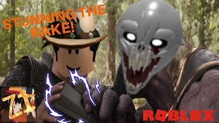 roblox rake classic edition - Stun staff vs the rake!! - {Roblox}