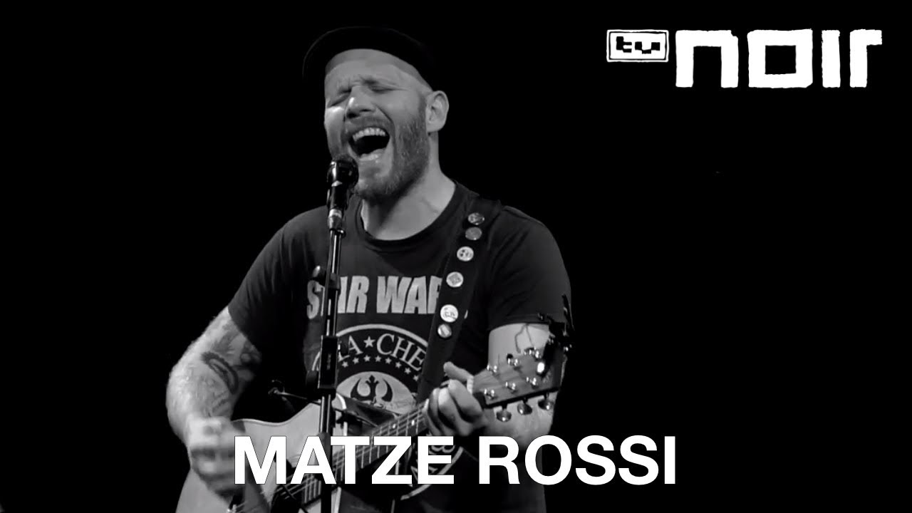 Matze Rossi - Wir wollen doch gut aussehen (live bei TV Noir)