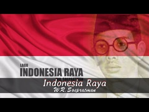 [Midi Karaoke] ♬ Wage Rudolf Soepratman - Indonesia Raya ♬ +Lirik Lagu [High Quality Sound]