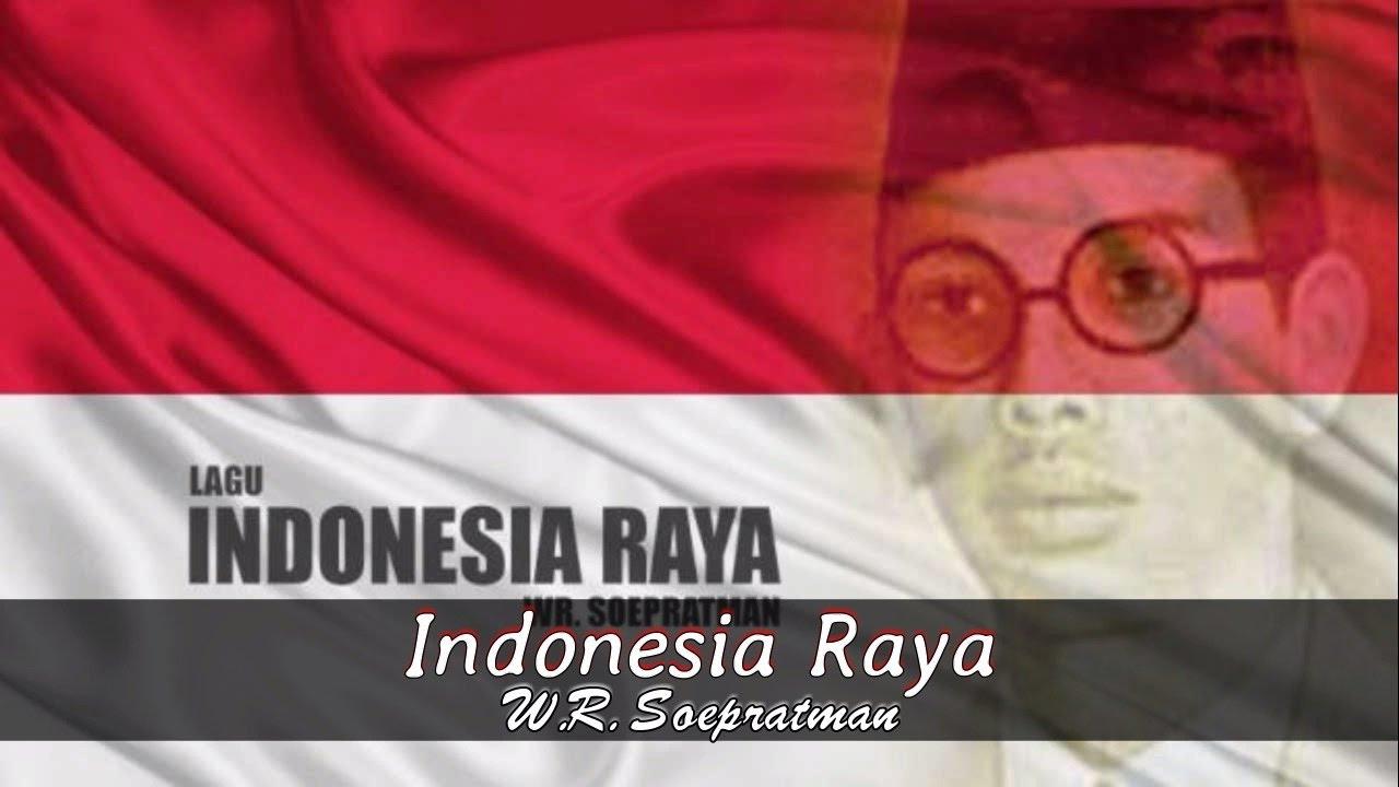 Midi Karaoke Wage Rudolf Soepratman Indonesia Raya Lirik