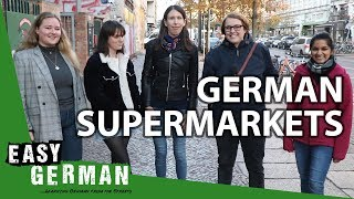 What you should know about German supermarkets | Easy German 271