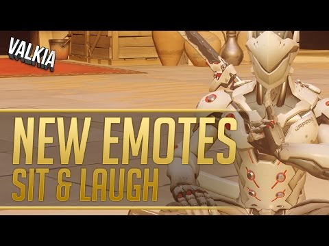 All New Overwatch Emotes! Sit & Laugh    Season 2 PTR Patch Update    Valkia