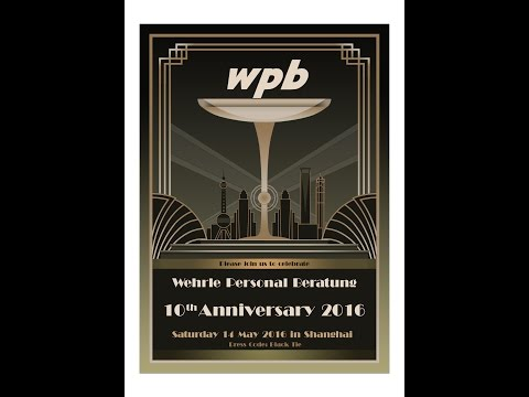 """wpb  Wehrle Personal Beratung"" celebrates 10th anniversary at historic Shanghai Race Club"
