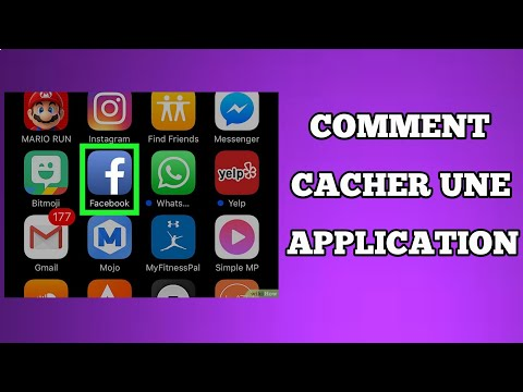 Comment cacher une application