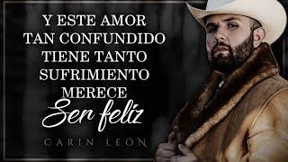 (LETRA) ¨NECESITO UN AMOR¨ - Carin León (Lyric Video)