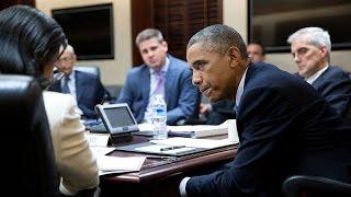 بعد اجتماع مجلس الأمن القومي الأمريكي .. هل سيضرب أوباما مواقع للنظام في سوريا ؟؟