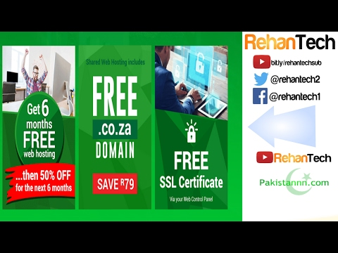How To Get Free Domain With 6 Months Hosting 2017