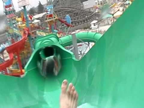 Riptide Waterslide At Hershey Park Pa On Board Camera