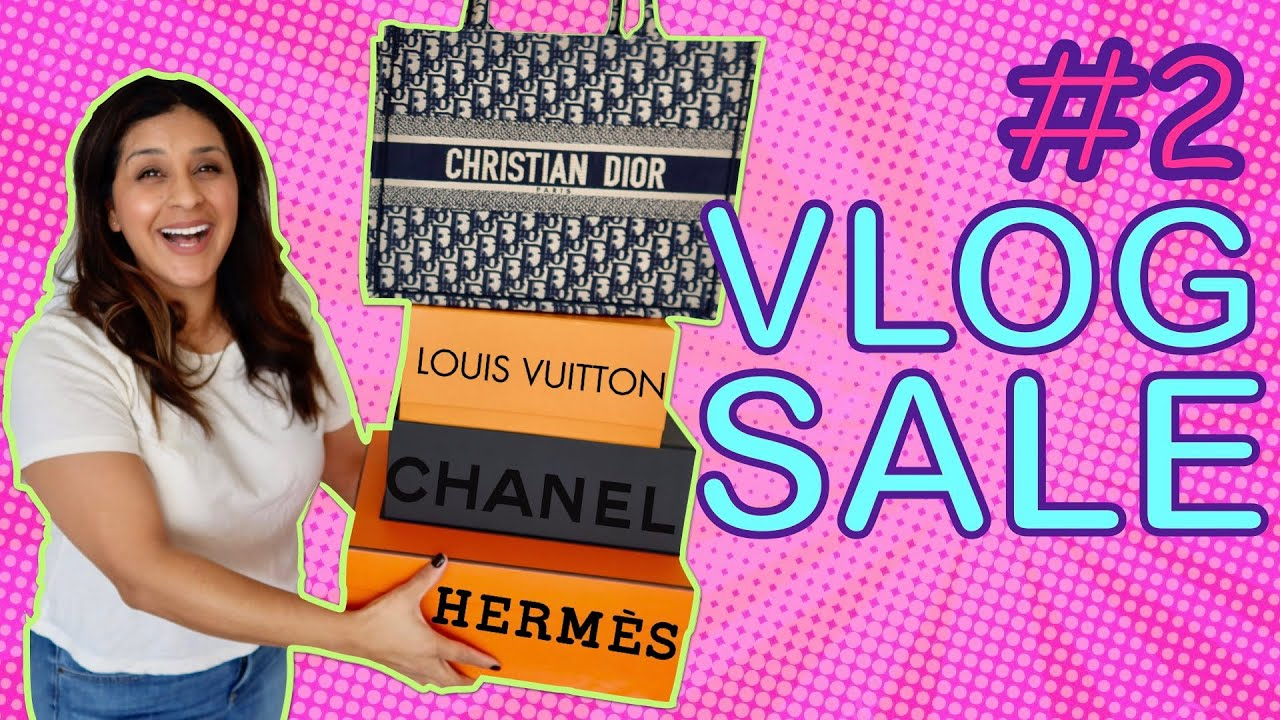 HUGE DESIGNER VLOG SALE - Dior, Louis Vuitton & Chanel - 2020