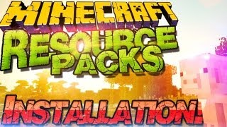  Minecraft 1.11 Resource Packs Installieren  Texture Packs & Sound Packs |German Deutsch Mac Win