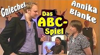 Das ABC-Spiel mit Gniechel und Annika Blanke