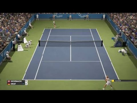 AO International Tennis - Online Gameplay - PS4