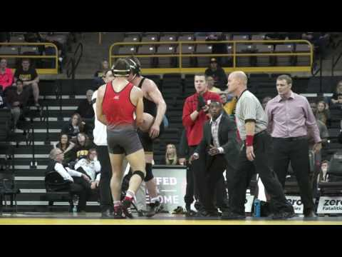 #tbt: @PackWrestle wins at #2 Iowa