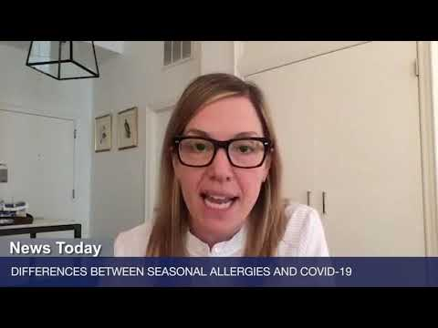 Differences Between Seasonal Allergies and COVID-19