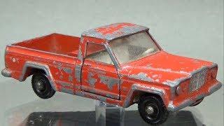 Matchbox Restoration: 1964 Lesney No 71 Jeep Gladiator