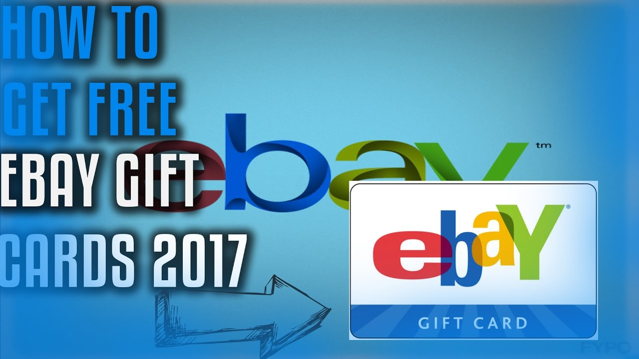 DOES IT WORK?!How to Get Free Ebay Gift Cards 2017